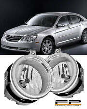 2007-2009 Chrysler Sebring Clear Direct Replacement Fog Lights Housing Assembly