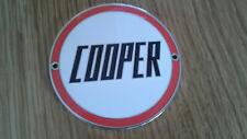 Mini John Cooper Mk1 S Works Enamel Grille Badge Rare Mpi Race Rally BMC Rare