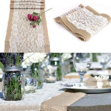 Vintage Hollow Lace Flower Tischdecke Spitze Tischtuch Tischwäsche Stoff Dekor