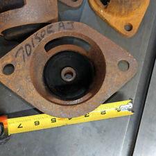 Set of 4 Engine motor machinery mount large iron sleeved rubber 6