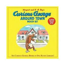 Curious George Around Town Boxed Set (Box of Six Books) by H. A. Rey (author)