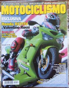MOTOCICLISMO 12 02 APRILIA CCM DUCATI HONDA KTM PIAGGIO YAMAHA HONDA VALENTINO