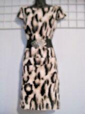 Alyx Size 8 Animal Print Dress with Added Belt