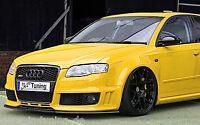 Spoilerschwert Frontspoiler Lippe Cuplippe aus ABS Audi A4 RS4 B7 mit ABE