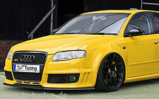 Spoilerschwert Frontspoilerlippe Cuplippe aus ABS Audi A4 RS4 B7 mit ABE