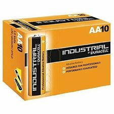 10 X Duracell AA Industrial Battery MN1500 Alkaline Replaces Procell Expiry 2023