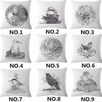 """18"""" Cotton Linen Animal Sofa Pillow Case Fashion Throw Cushion Cover Home Decor"""