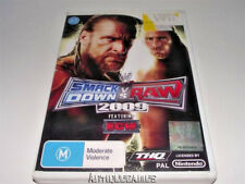 Smack Down Vs Raw 2009 Nintendo Wii PAL *Complete*