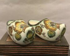 More details for vintage handmade gouda clogs c1960