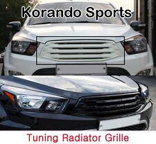 [Kspeed] (Fits: SSangyong 2012+ Korando Sports) Tuning radiator grille