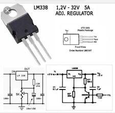 5 pcs LM338T 5 amp. P+ Regulator 1.2 Volt To 32 Volt replaces LM317  USA Seller