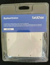 NIP Brother Applique Station WHITE Design Fabric 10 Count TAC2001