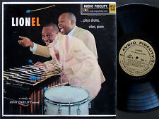 LIONEL HAMPTON Plays Drums, Vibes, Piano LP AUDIO FIDELITY AFLP 1849 US '58 MONO