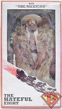 "BOB ""THE MEXICAN"" The Hateful Eight 8"" inch Clothed Movie Figure Neca 2016"