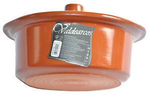 4.5 Liters Spanish Terracotta Casserole Dish , Olla De Barro , Cocotte De Barro