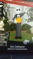 Airblown Inflatable Jack Skellington with Pumpkin Gemmy Halloween Yard Decor