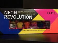 OPI Neon Revolution 6 mini nail lacquer polish 2013