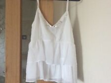 Bright White top size 10 jane norman brand new