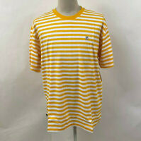 Obey Men's Knit Box T-Shirt Eighty Nine Icon Energy Yellow/White XXL NWT Andre
