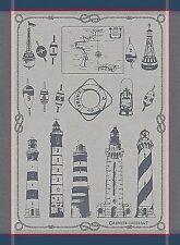 GARNIER THIEBAUT PHARES ET BALISES (LIGHTHOUSES & BUOY) FRENCH KITCHEN/TEA TOWEL