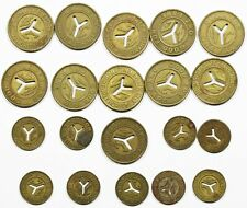 Lot of 20 - New York City Nyc Transit Authority Tokens