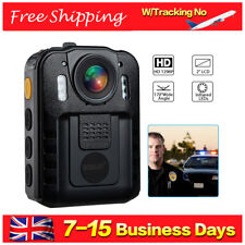 1296P Security Body Worn Cam DVR Police Video Record Night Vision 170° WIde View