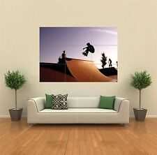 SKATE BOARD RAMP SKATING NEW GIANT POSTER WALL ART PRINT PICTURE G179