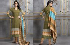 Elegant Cotton Designer Printed Unstitched Dress Material Salwar Suit No SB112
