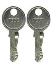 Generac 0D3037K KEY#1333 Set Of Two For 0D3037 Latch