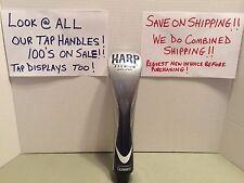 NEW - Harp Premium Irish Lager Beer Tap Handle NEW Sealed Bottom