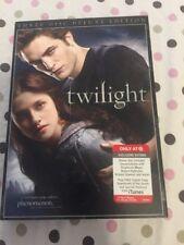 Twilight DVD 2009 3-Disc Set Deluxe Edition Vampires Kristen Stewart Pattinson
