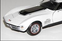 1 Vette ZL1 Corvette Chevy 1969 Race Sport Car 24 Vintage 12 Carousel White 18