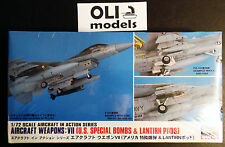 1/72 Aircraft Weapons VII: US Special Bombs & Lantirn Pods - Hasegawa 35012