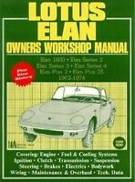 Lotus Elan Owners Workshop Service Manual 1962-1974 Book