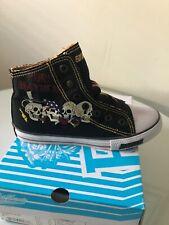 Ed Hardy Highrise Slip- On Shoes, Kids Unisex Size 5