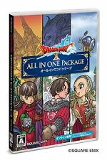 NEW Dragon Quest X All in One Package ver.1+ver.2+ver.3+first print bonus PC F/S