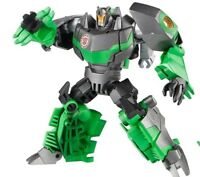 Transformers Robots in Disguise GRIMLOCK complete Warrior Class Rid Green