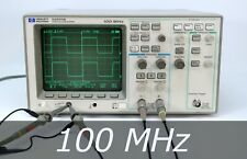 New Listinghp Agilent 54600b 2 Channel 100 Mhz Oscilloscope 2 New Probes Very Clean