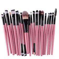 US 20pcs Makeup Brush Set tool Make-up Toiletry Kit Eyeshadow Make Up Brush Set