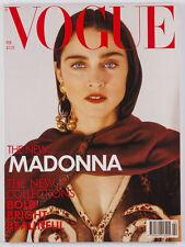 MADONNA's 1st Vogue magazine LINDA EVANGELISTA Cindy Crawford YASMIN LE BON Dior