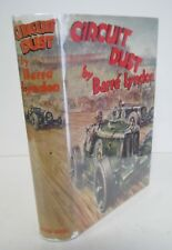 Barre Lyndon CIRCUIT DUST 1934 1st Ed in Rare DJ, Auto Racing Illustrated