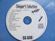 SINGER'S SOLUTION KARAOKE CD-G POP ***SS-030