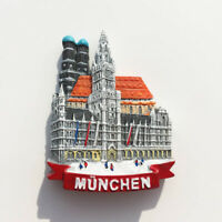 Munich Church Fridge Magnet Refrigerator Sticker Landmark Cathedral Souvenir