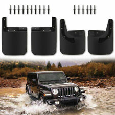 2018-2019 Jeep Wrangler JL Front and Rear Molded Splash Guard Mud Flap