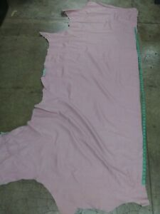 Italian Cowhide leather Cow Hide Pink 25 Sq.Ft, 0.8 mm. 2 oz.