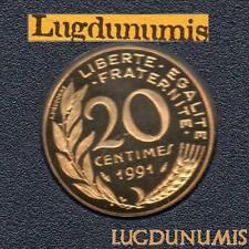 BE 1991 20 Centimes Marianne 1991 BE FDC 6 232 Exemplaires Provenant du Coffret