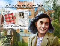Togo Military & War Stamps 2019 MNH WWII WW2 Anne Frank Famous People 1v S/S
