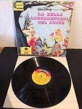 Walt Disney La Bella Addormentata Nel Bosco LP Vinile + Libro Illustrato EX-/EX