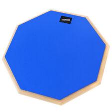 """Keepdrum DP-BL12 Drum Practice Pad Blau Übungspad 12"""""""