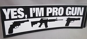 WHOLESALE LOT OF 10 PRO GUN SECOND AMENDMENT STICKERS hand rifle AR14 revolver